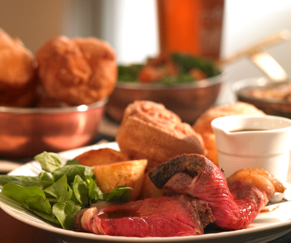 Sunday Lunch at The Black Bull