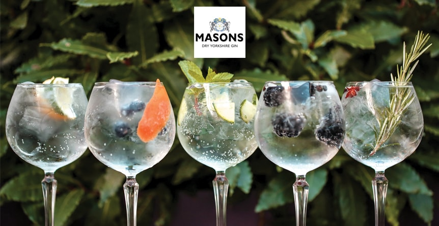 An Evening For Gin Lovers with Masons Yorkshire Gin & Fever-Tree Tonic