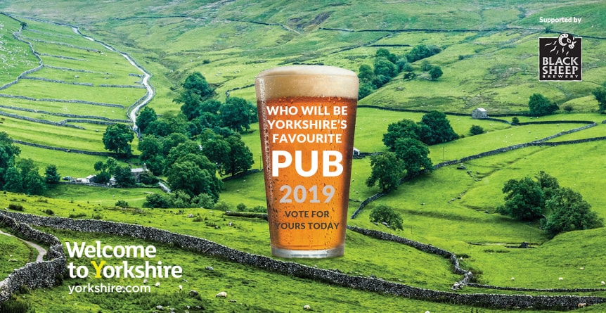 Yorkshire's Favourite Pub 2019 - Vote for The Black Bull